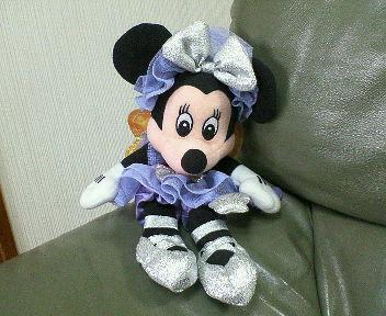 紫のチュチュを着たミニーちゃん☆