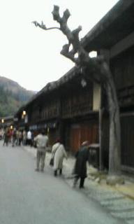 妻籠の昔の宿の風景
