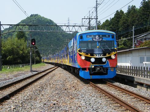 西武鉄道3000系銀河鉄道999号