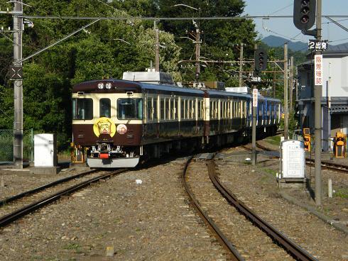 普通列車に併結のビール列車