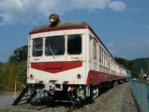 鉄道車両公園のクハニ29