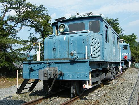 鉄道車両公園のデキ1型