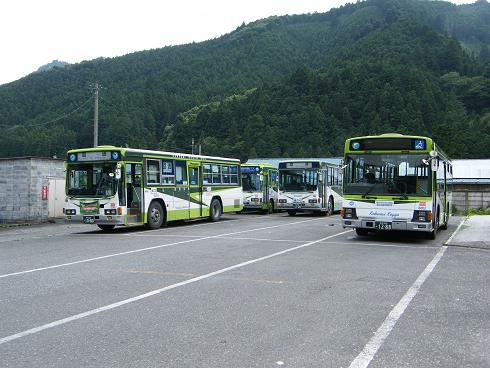 国際興業バス名栗車庫