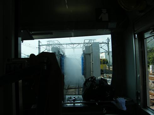 洗車機突入②