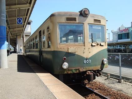 紀州鉄道御坊駅