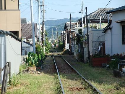西御坊駅付近