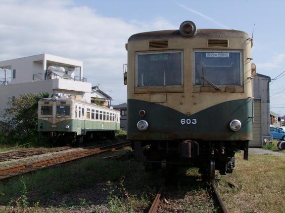 キハ603と604