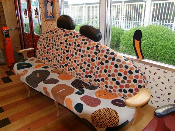 たま電車(座席)