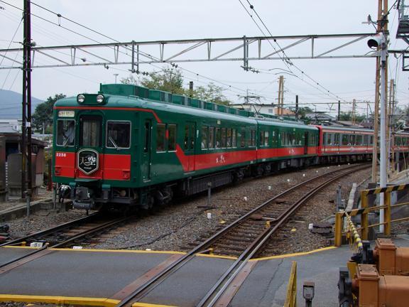 九度山駅を発車する天空