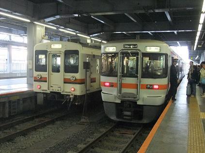 豊橋からは飯田線