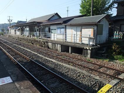 本長篠駅旧田口線ホーム
