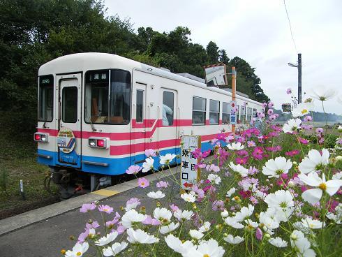 ひたちなか海浜鉄道ミキ180