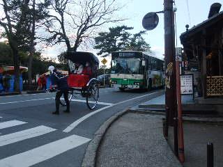 奈良の街角