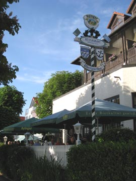 Ammersee hotel terrace