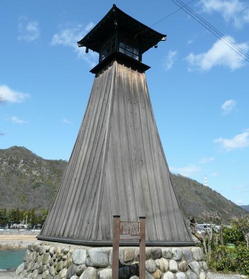 上有知川湊灯台