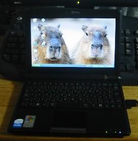 ミニノートパソコン1