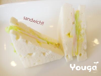 うん♪サンドイッチ♪