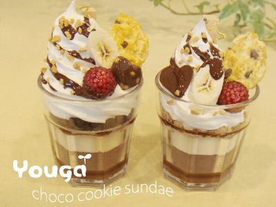 チョコレートサンデー♪