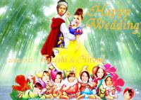 白雪姫と7人の小人&りんご♪