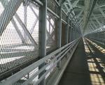 因島大橋内部