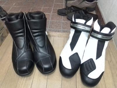 新ブーツ×2