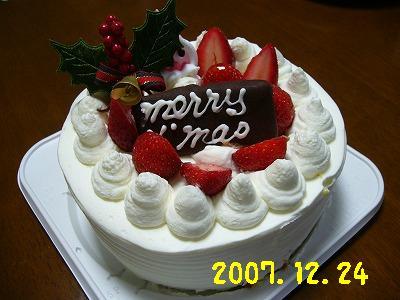 去年のケーキ2