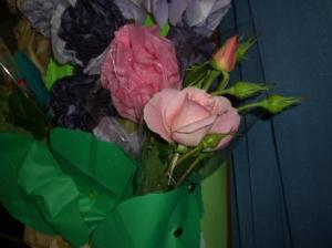 おねえさんちの薔薇