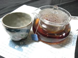 お茶ですよ~