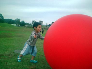 巨大ボール