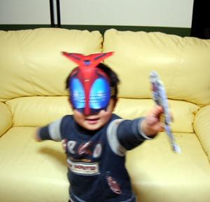 仮面ライダー兜だー!