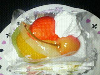 お祝いのケーキ♪