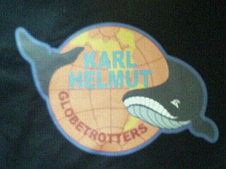 クジラのバックプリント