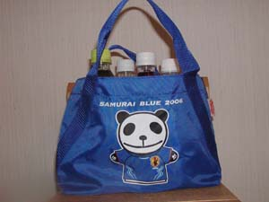『SAMURAI BLUE 2006』のBAG♪