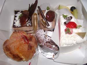 ケーキ~~♪