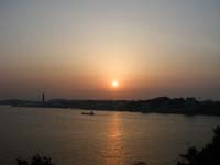 「めかりP.A』からの夕日