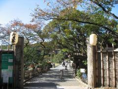 三渓園正門