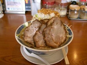ふじ麺中盛チャーシュートッピング