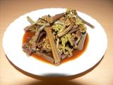 蕨(わらび) 料理