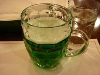 ミドリのビール