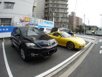 CX-7 関西マツダ 試乗車か?2