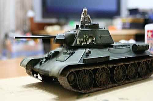 T-34-76(横から