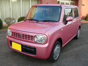 スズキ ラパン ピンク