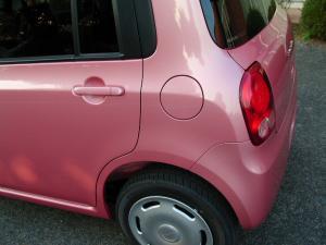 スズキ ラパン ピンク リア