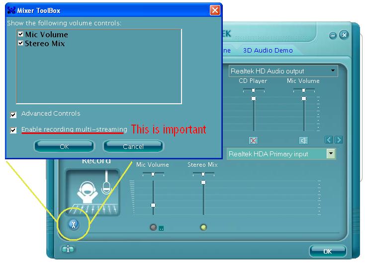 REALTEK HD INPUT AUDIO DRIVERS WINDOWS XP