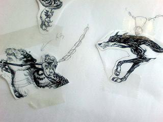 レリーフ(浮き彫り)