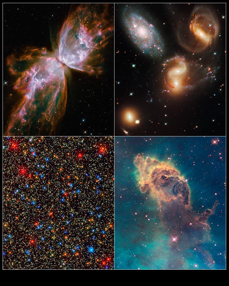 宇宙への旅人 復活したハッブル宇宙望遠鏡の最新画像