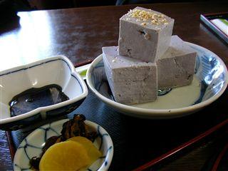 青ばた豆腐