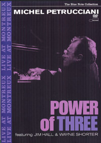 Michel Petrucciani : Power Of Three (DVD)