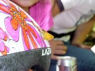 ヘルメットと蝶-岩屋堂