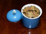 ぷに子のクッキーとアヒルのクッキージャー